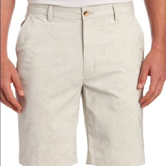 Greg Norman Collection Other - GREG NORMAN Palm Flat Front Golf Shorts 34
